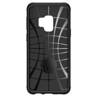 Etui na smartfon SPIGEN Rugged Armor Urban do Samsung Galaxy S9 Czarny 592CS22875