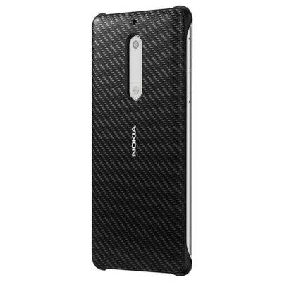 Etui NOKIA Carbon Fibre Design Case CC-803 do Nokia 5 Czarny