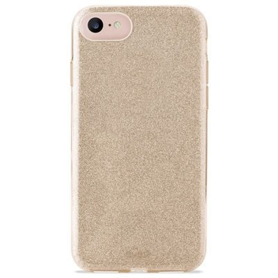 Etui PURO Glitter Shine Cover do Apple iPhone 8/7/6s/6 Złoty IPC747CSHINEGOLD