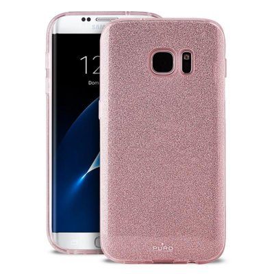 Etui PURO Glitter Shine Cover do Samsung Galaxy S8 Rose Gold