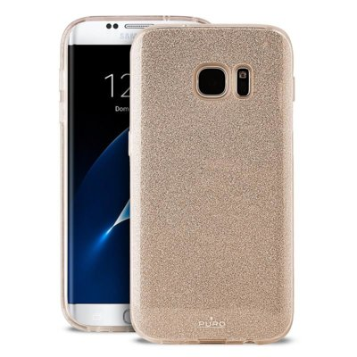 Etui PURO Glitter Shine Cover do Samsung Galaxy S8 Złoty