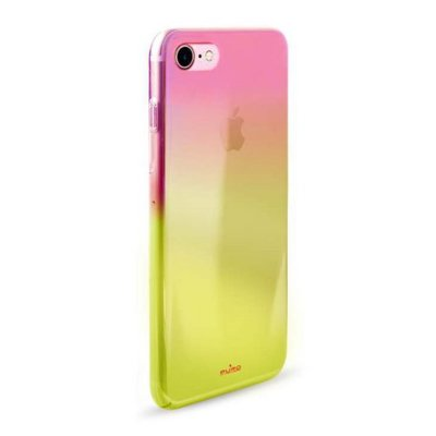 Etui PURO Hologram Cover do Apple iPhone 7/iPhone 8 Pomarańczowy IPC747HOLOCRYORA