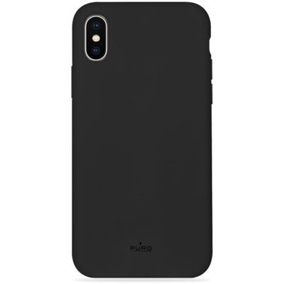 Etui PURO Icon Cover do Apple iPhone XS/X Limited edition Czarny IPCXCICONBLK