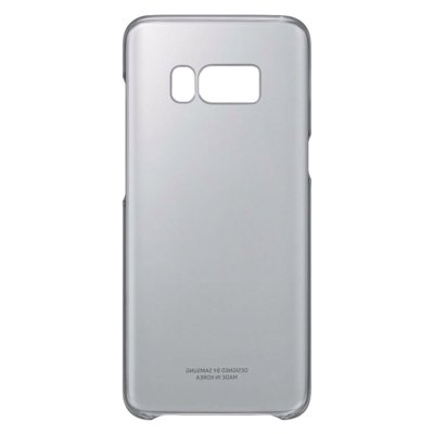 Etui SAMSUNG Clear Cover do Galaxy S8+ Czarny EF-QG955CBEGWW