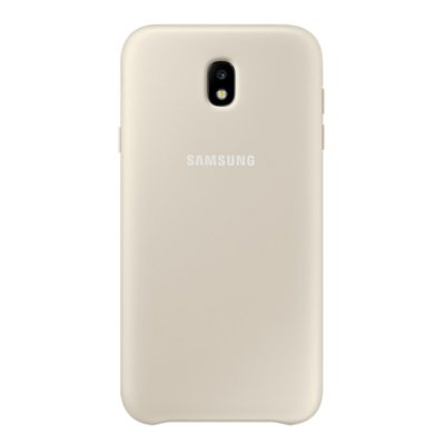 Etui SAMSUNG Dual Layer Cover do Galaxy J7 (2017) Złoty EF-PJ730CFEGWW