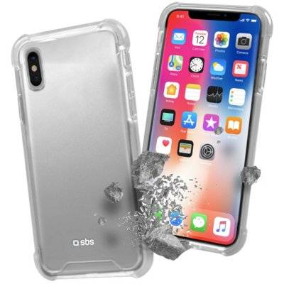 Etui SBS Hard Shock Cover Apple iPhone X Przezroczysty TECOVERSHOCKIPXT