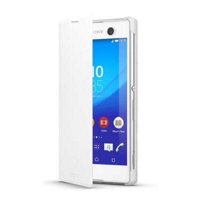 Etui SONY Style Cover Stand SCR48 do Xperia M5 Biały