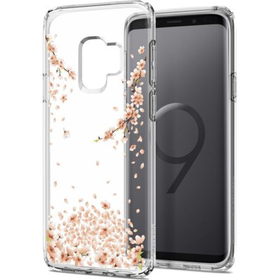 Etui SPIGEN Liquid Crystal Blossom do Samsung Galaxy S9 Crystal Clear