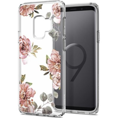 Etui SPIGEN Liquid Crystal Blossom do Samsung Galaxy S9 Flower