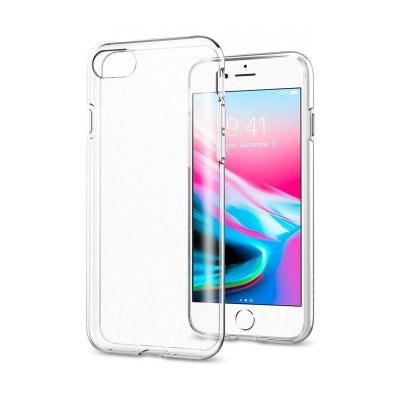 Etui SPIGEN Liquid Crystal do Apple iPhone 7/8 Przezroczysty