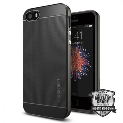 Etui SPIGEN Neo Hybrid do Apple iPhone 5/5S/SE Czarny