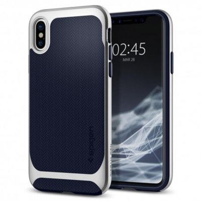Etui SPIGEN Neo Hybrid do iPhone X Srebrny