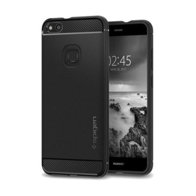 Etui SPIGEN Rugged Armor do Huawei P10 Lite Czarny