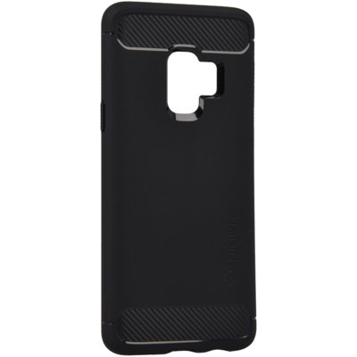 Etui SPIGEN Rugged Armor do Samsung Galaxy S9 Czarny