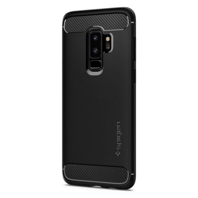 Etui SPIGEN Rugged Armor do Samsung Galaxy S9 Plus Czarny