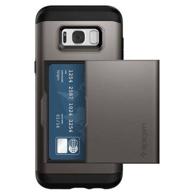 Etui SPIGEN Slim Armor CS do Samsung Galaxy S8 Grafitowy