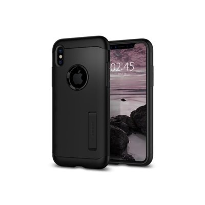 Etui SPIGEN Slim Armor do Apple iPhone X Czarny