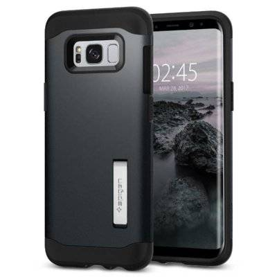 Etui SPIGEN Slim Armor do Samsung Galaxy S8 Grafitowy