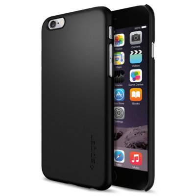 Etui SPIGEN Thin Fit do iPhone 6 Czarny