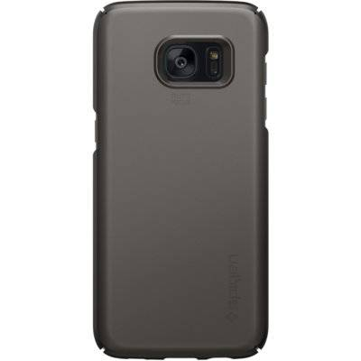 Etui SPIGEN Thin Fit do Samsung Galaxy S7 Edge Ciemnoszary