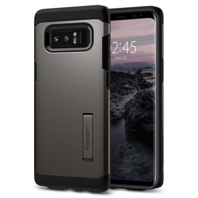 Etui SPIGEN Tough Armor do Samsung Galaxy Note 8 Grafitowy