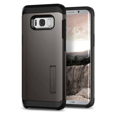 Etui SPIGEN Tough Armor do Samsung Galaxy S8 Grafitowy