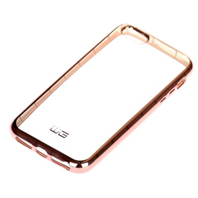Etui WG Azzaro T TPU Laser do Apple iPhone 5 Różowy