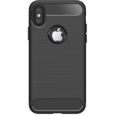 Etui WG Carbon Apple iPhone XR Czarny