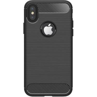 Etui WG Carbon Apple iPhone X/XS Czarny