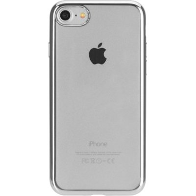 Etui XQISIT Flex Case Chromed Edge do Apple iPhone 7 Szary