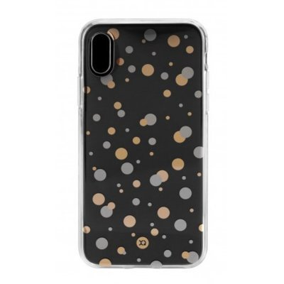 Etui XQISIT Shell Dots do Apple iPhone X 30468