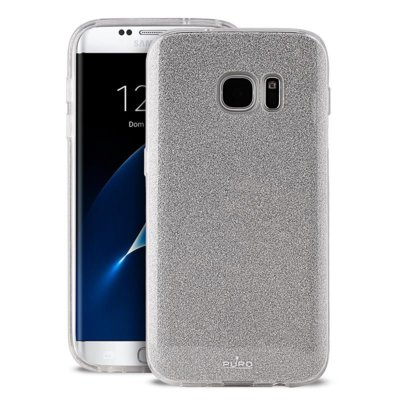 Etui PURO Glitter Shine Cover do Samsung Galaxy S8 Plus Srebrny