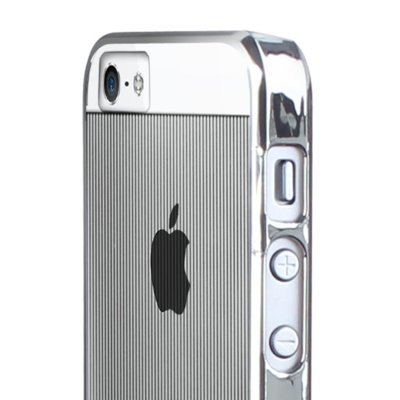 Pokrowiec PURO Mirror Cover do iPhone 5/5S Srebrny