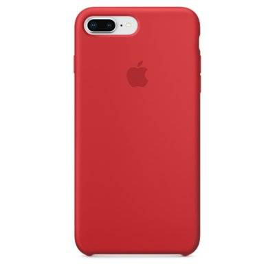 Silikonowe etui APPLE iPhone 8 Plus/7 Plus (PRODUCT)RED MQH12ZM/A