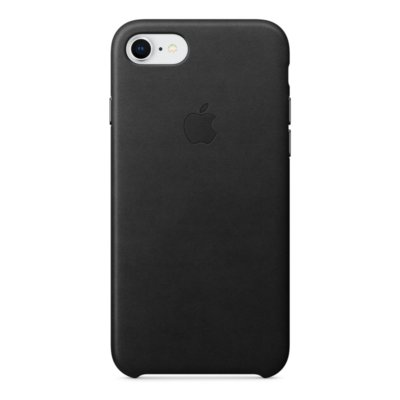 Skórzane etui do APPLE iPhone 8 / 7 Czarny MQH92ZM/A