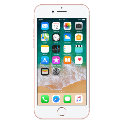 Smartfon APPLE iPhone 7 128GB Różowe złoto