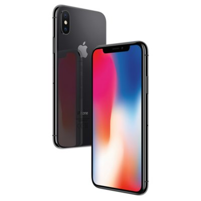 Smartfon APPLE iPhone X 64GB Gwiezdna szarość MQAC2PM/A
