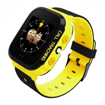 SmartWatch ART Watch Phone Go Flashlight Yellow SGPS-02O