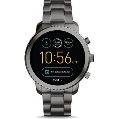 SmartWatch FOSSIL Q Explorist Smoke Stainless Steel Szary FTW4001