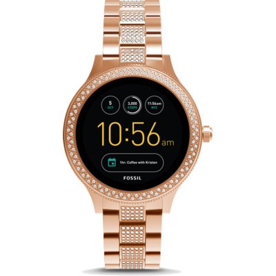 SmartWatch FOSSIL Q Venture Rose Gold-Tone Stainless Steel FTW6008