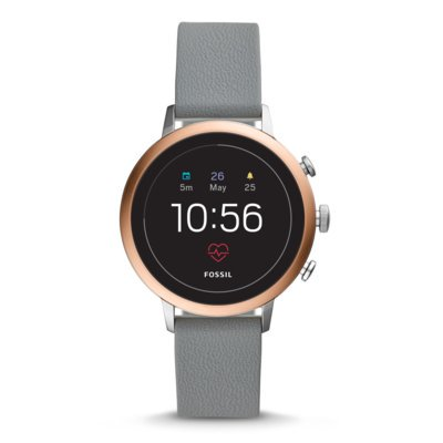 SmartWatch FOSSIL Venture HR Gray Silicone FTW6016