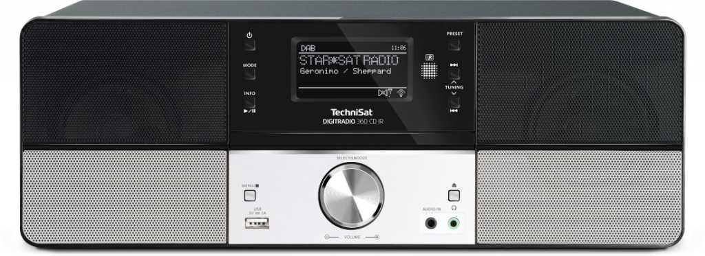 Technisat DigitRadio 360 CD IR Radioodtwarzacz