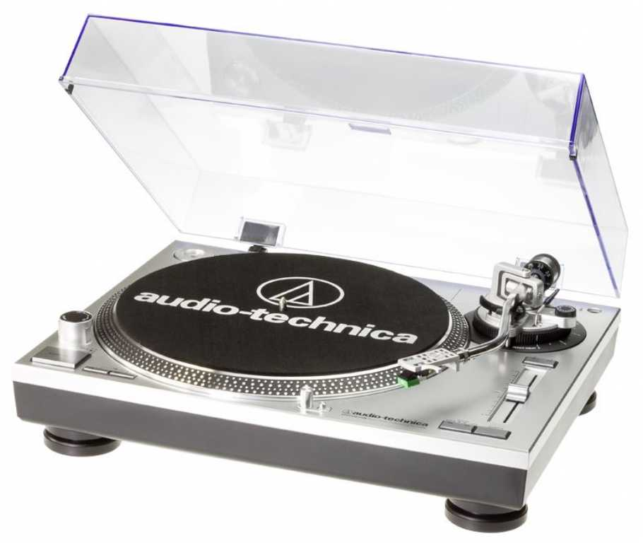Audio-technica AT-LP120 Srebrny Gramofon