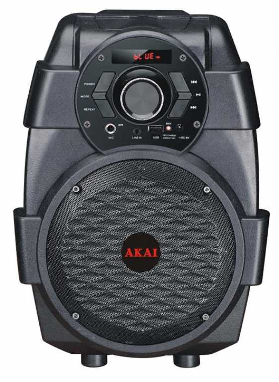 Akai ABTS-806 Czarny Power Audio