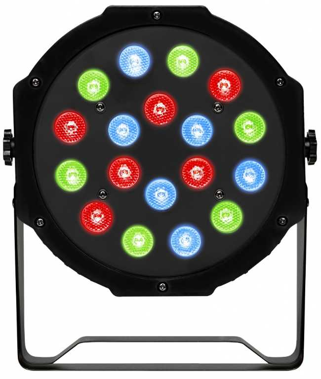 Fractal lights LED PAR 18 x 1W